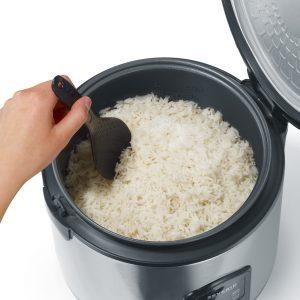 cocedor de arroz abierto