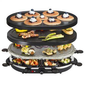 placas de una raclette