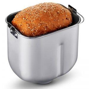 pan en envase de una panificadora