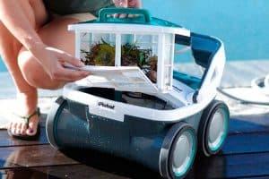 filtro de un robot de piscina