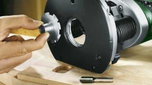 diámetro de una fresadora