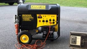 generador eléctrico compacto con ruedas