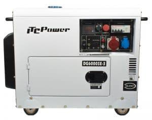 generador eléctrico protegido