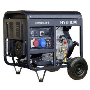 generador eléctrico hyundai