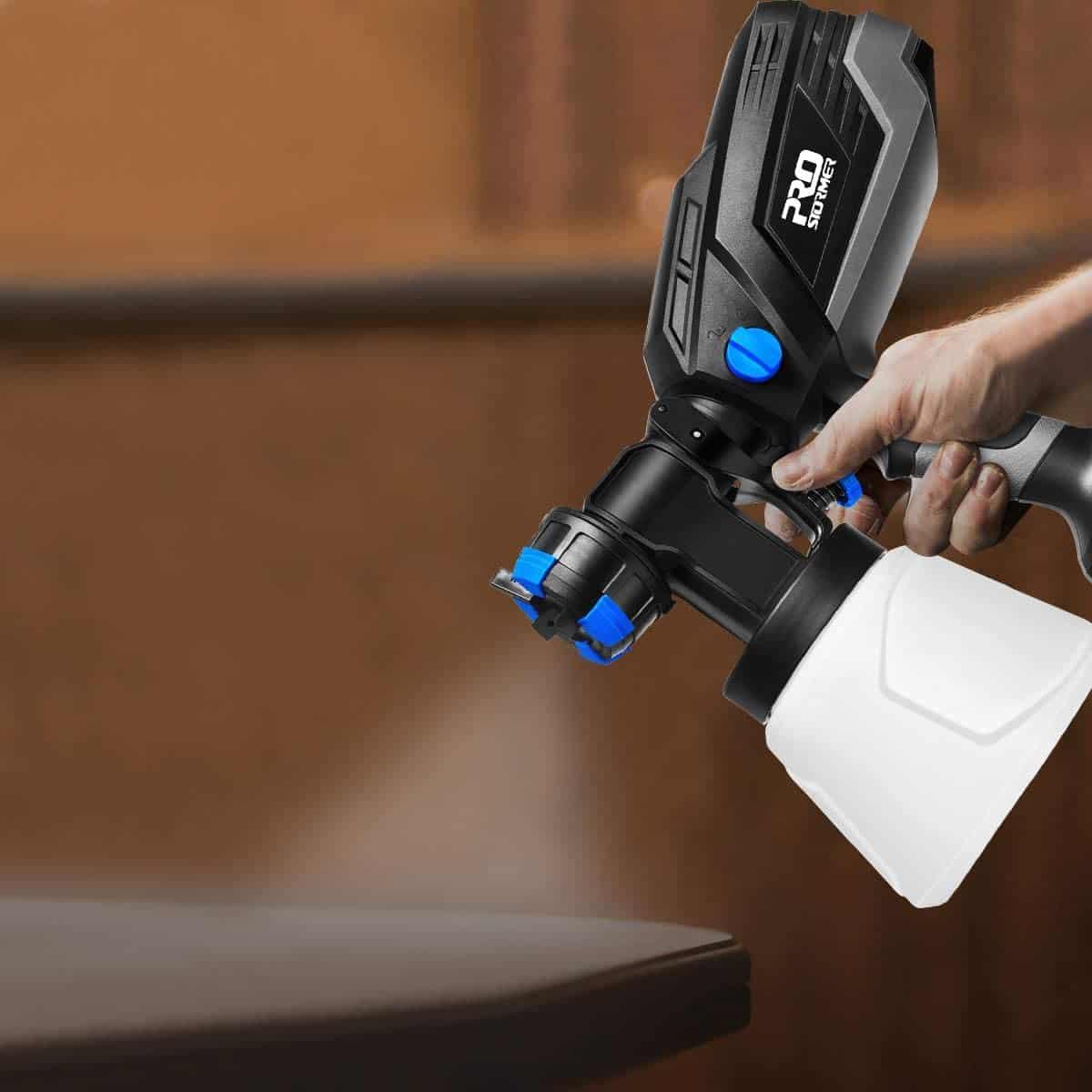 pistola de pintura de plastico