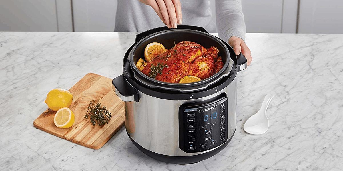 cocinar con comida en una slow cooker
