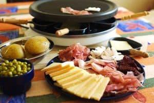 comida y raclette