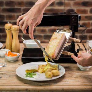 raclette de queso