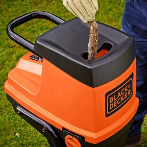 triturador de ramas black and decker
