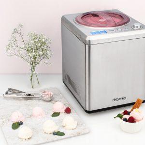 pequeña máquina heladera