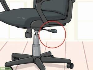 regular altura silla de oficina