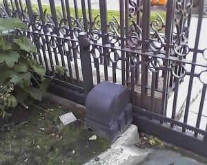 motorización para puerta en el suelo