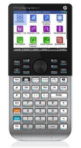 calculadora gráfica con pantalla moderna