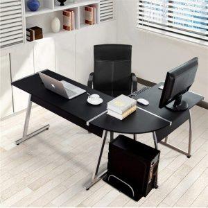 mesa de ordenador en L