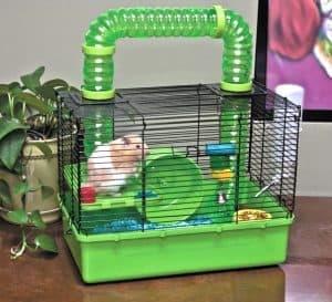 jaula de hamster pequeña