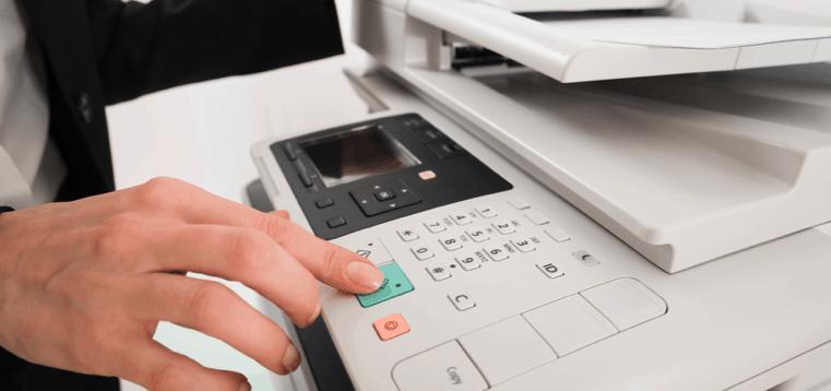fotocopiadora de cerca
