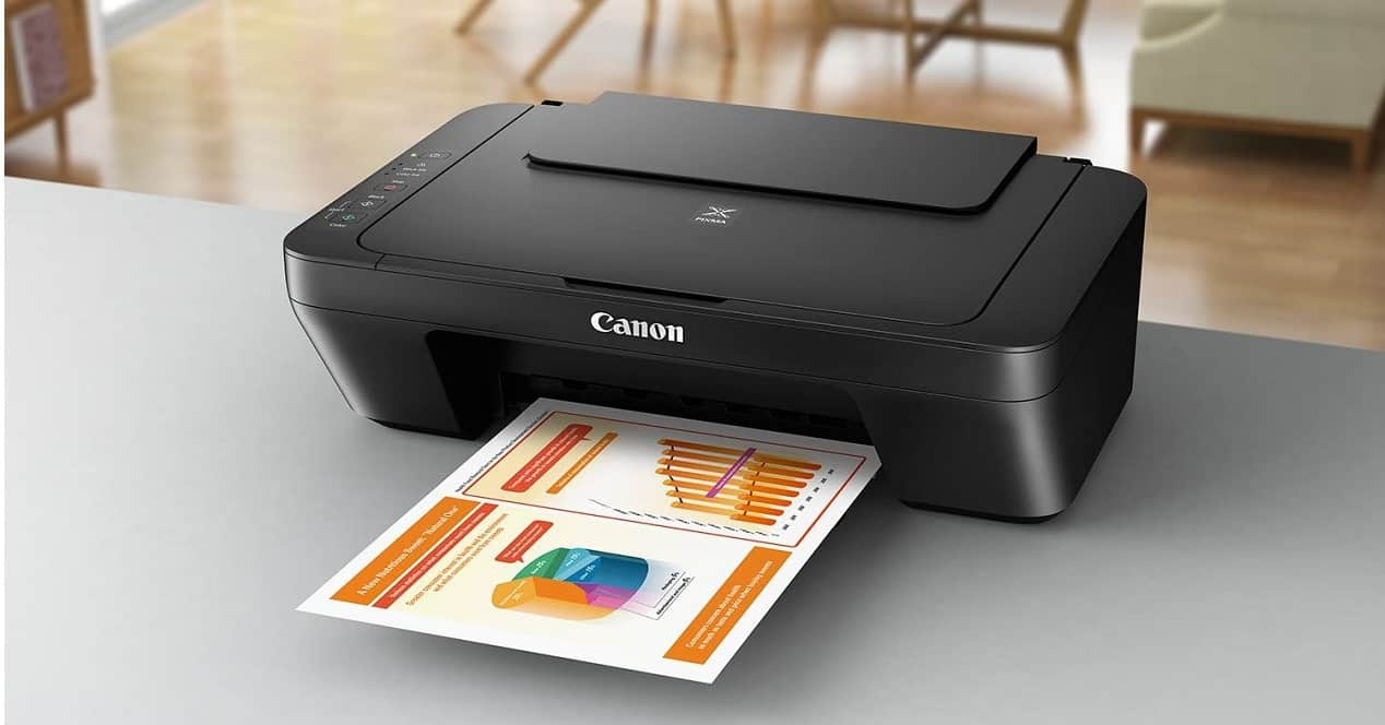 impresora imprimiendo
