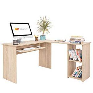 mesa de ordenador en forma de L