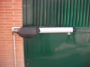 motorización para puerta a un lado