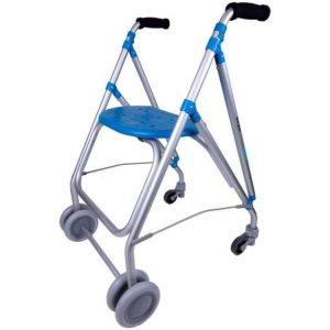 andador con dos ruedas