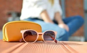 gafas de sol polarizadas de color claro