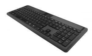 teclado inalámbrico negro