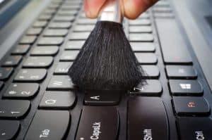 limpiar teclado inalámbrico