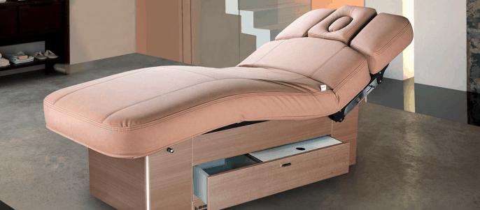 mesa de masaje muy moderna