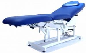 mesa de masaje hidráulica