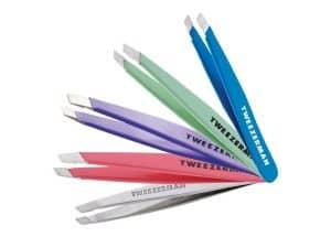 pinzas de depilar de varios colores