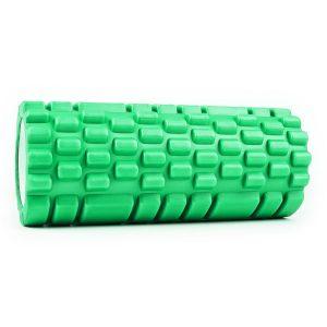 rodillo de masaje verde