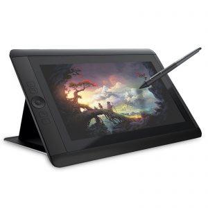 tableta gráfica con pantalla a color