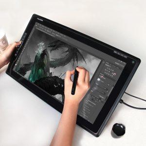 tableta gráfica grande