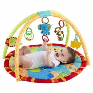 gimnasio para bebé redondo