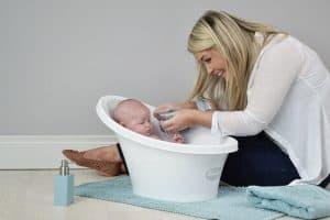 bañera para bebé pequeña
