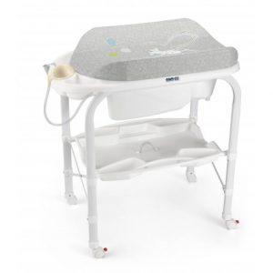 bañera cambiador para bebé
