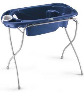 bañera para bebé con soporte
