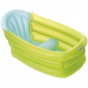 bañera para bebé hinchable