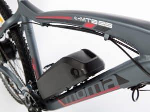 cuadro de una bicicleta eléctrica