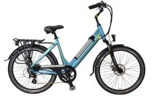 bicicleta eléctrica para mujer