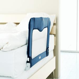 barrera de cama para bebé rígida