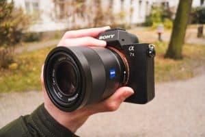 cámara de fotos réflex compacta