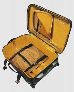 equipaje blando interior