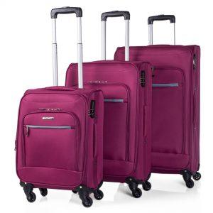 set de equipajes blandos