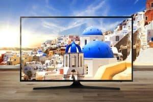 televisor 4k con imagen de calidad