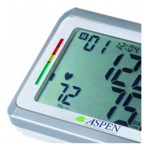 pantalla de un tensiómetro