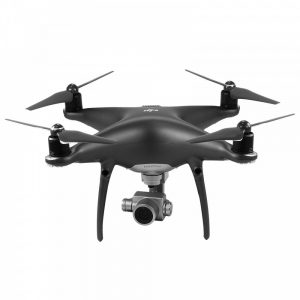 dron con cámara negro