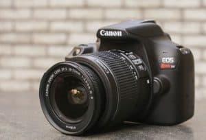 cámara de fotos réflex canon