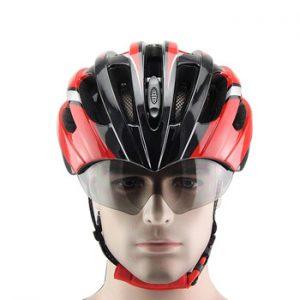 talla de un casco de bicicleta