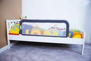 barrera de cama para bebé ligera